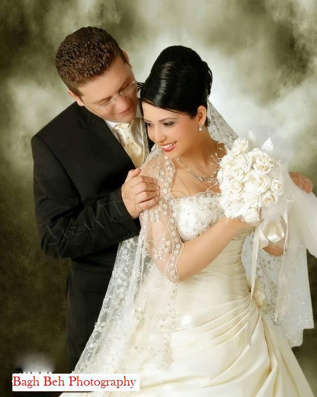 عکس عروس داماد قشنگ