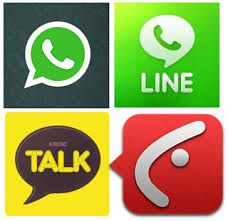 4 Best app chatting for android