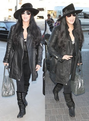 Cher at LAX Airport, 2012