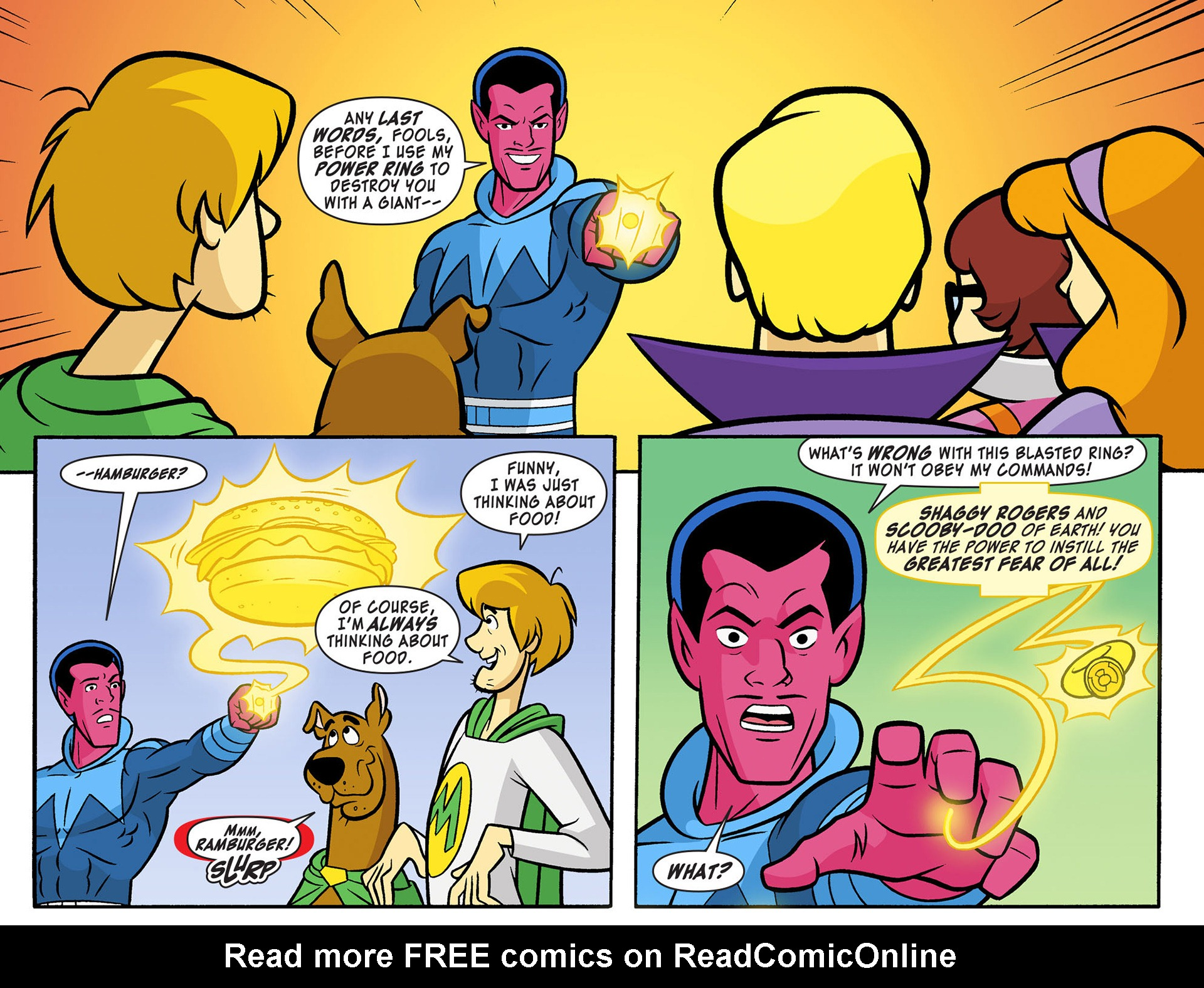 Read online Scooby-Doo! Team-Up comic -  Issue #12 - 17