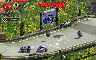 تحميل احدث ألعاب سباق وقتال السيارات الخفيفة والممتعة Motor Rock بكراك سكايدرو حصريا Motor+Rock+1