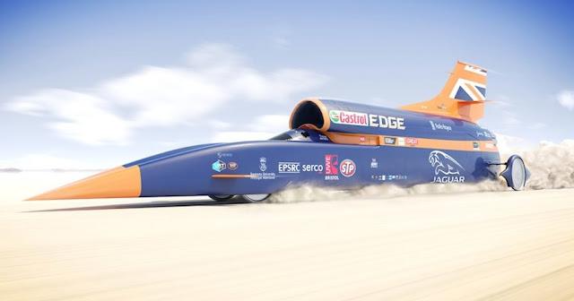 最高速度1609キロ!?超高速自動車「ブラッドハウンドSSC」を発表!