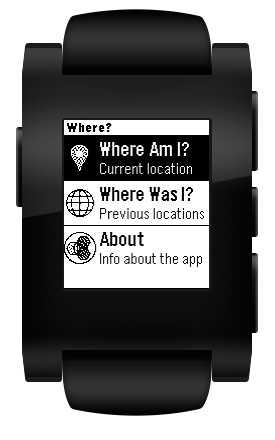 Where? App: Web with Travel Boundary