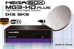 Atualizacao do receptor Megabox MG3 HD Plus Satelite V241