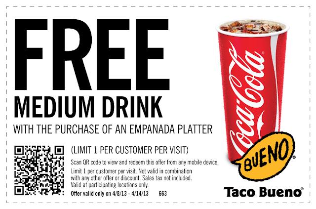 Free soda coupons