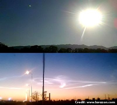 Shock in Northern Argentina by the Appearance of a Strange Phenomenon 4-21-13
