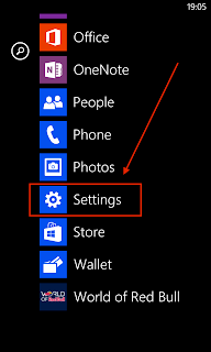 Advice configuring mobileiron on windows phone 8 nokia lumia 925