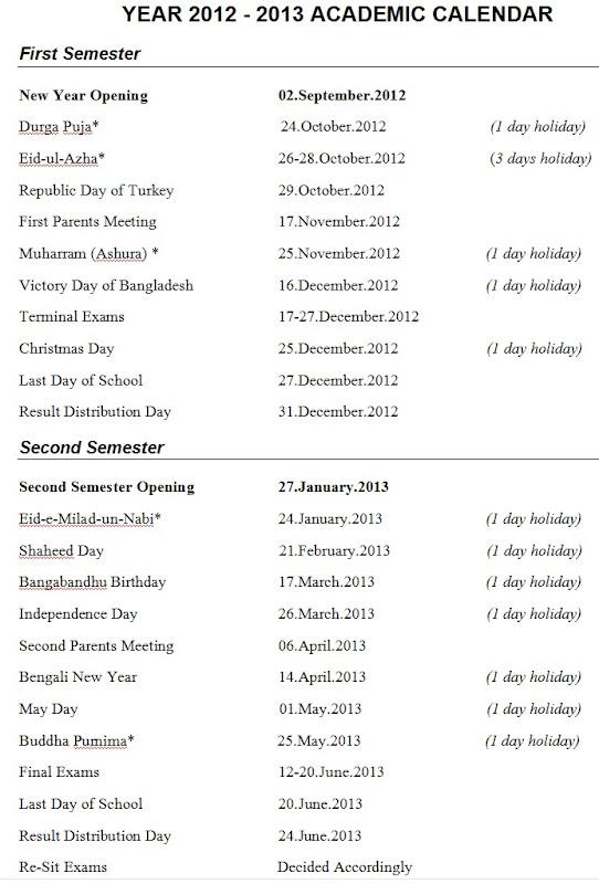 hope college academic calendar