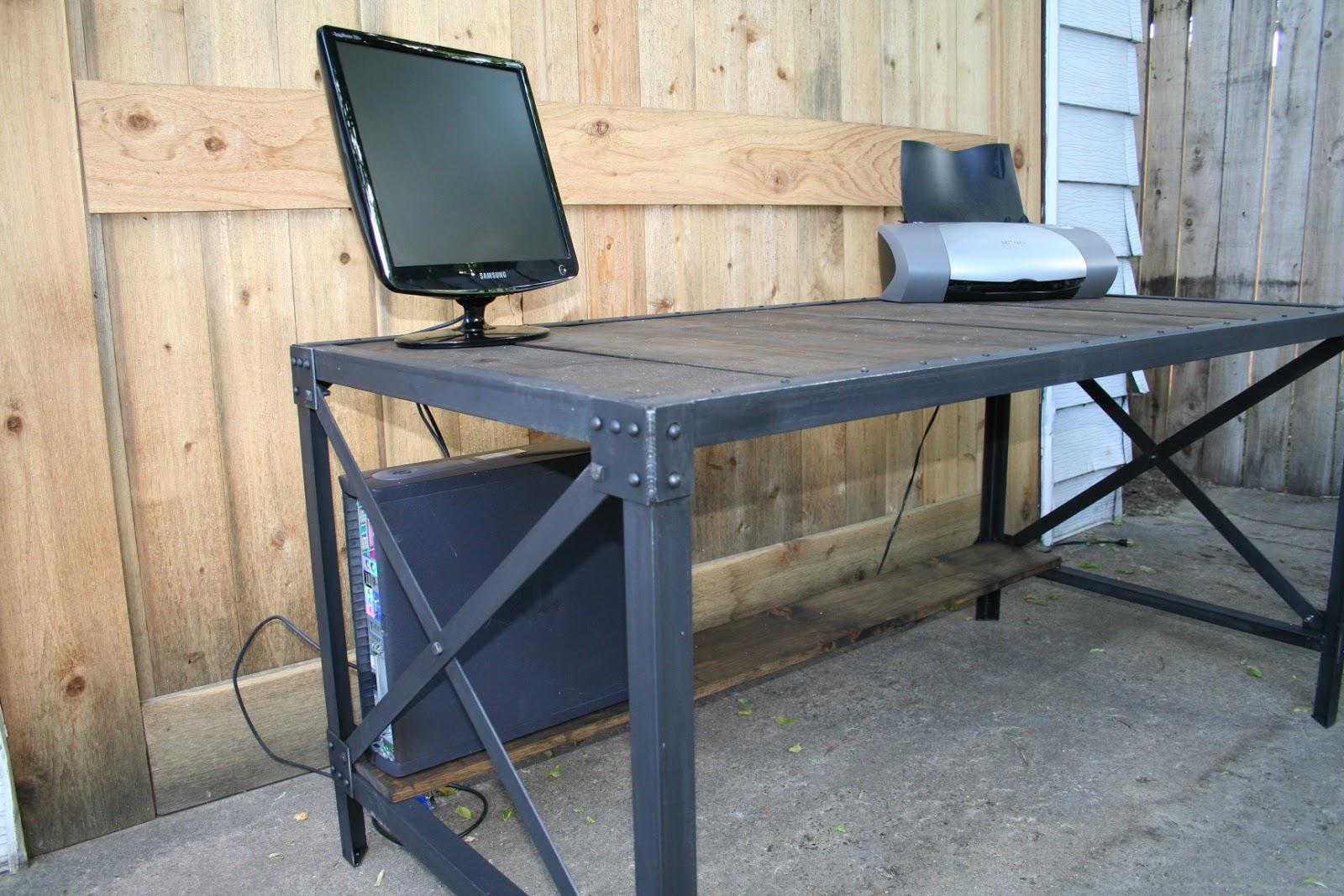 real industrial edge furniture llc industrial desks. Black Bedroom Furniture Sets. Home Design Ideas