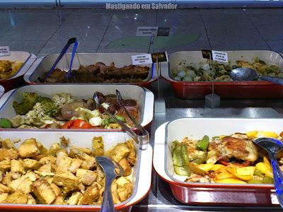 Orgânico Alimentos Saudáveis: Buffet