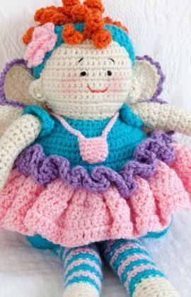 Free Amigurumi Fairy Pattern : 2000 Free Amigurumi Patterns: Free Tooth Fairy Doll ...