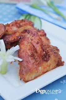 Cánh gà nướng sả ớt thơm lừng