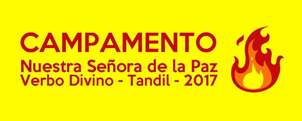 CAMPAMENTO TANDIL 2017