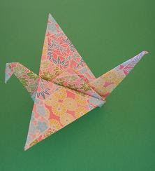 how to make an origami bird that flaps its wings