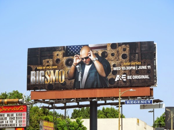Big Smo series premiere billboard
