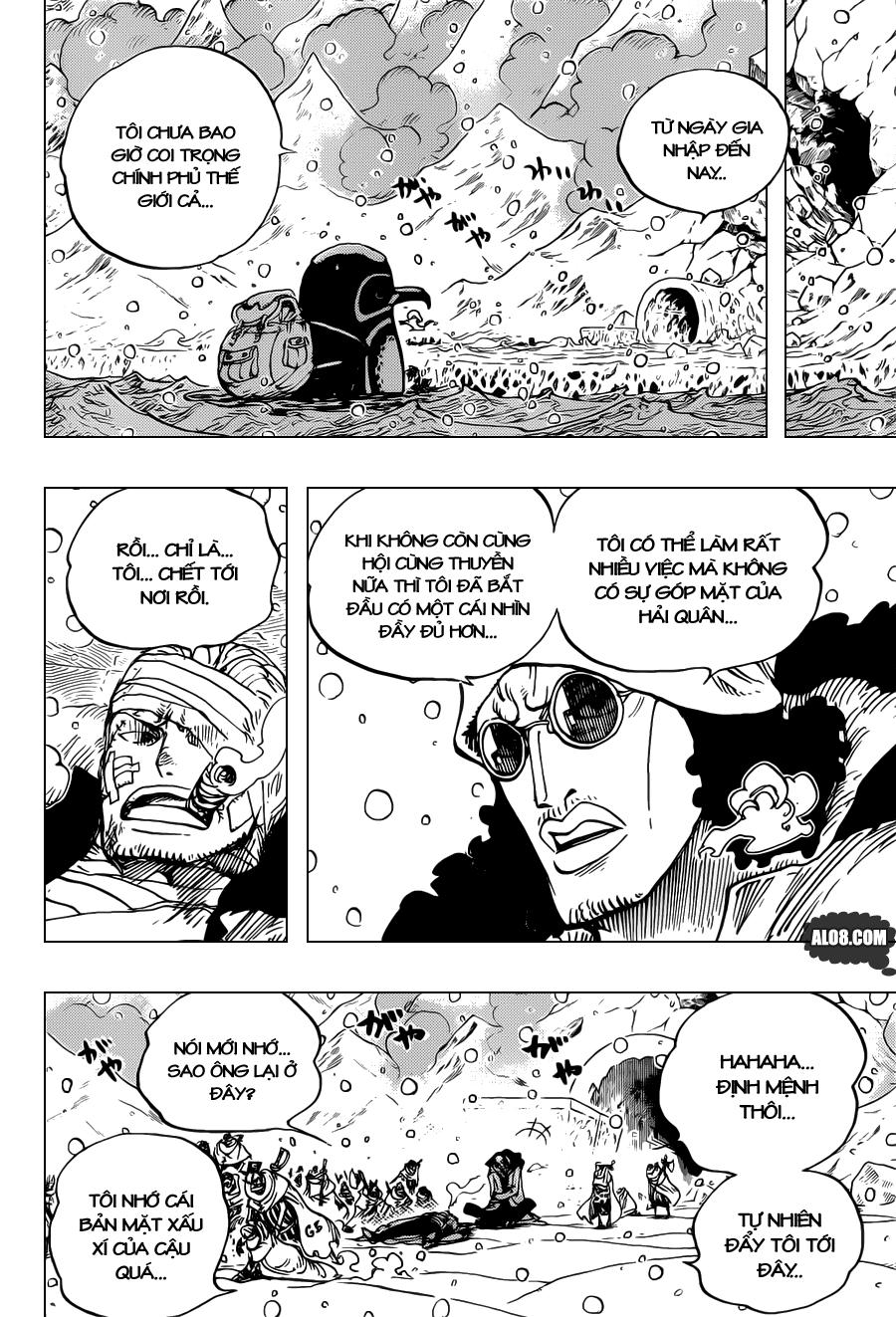 One Piece Chapter 699: Báo sáng 008