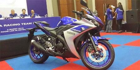 Yamaha R25 versi ABS 2015
