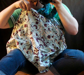 Learning to Breastfeed in public