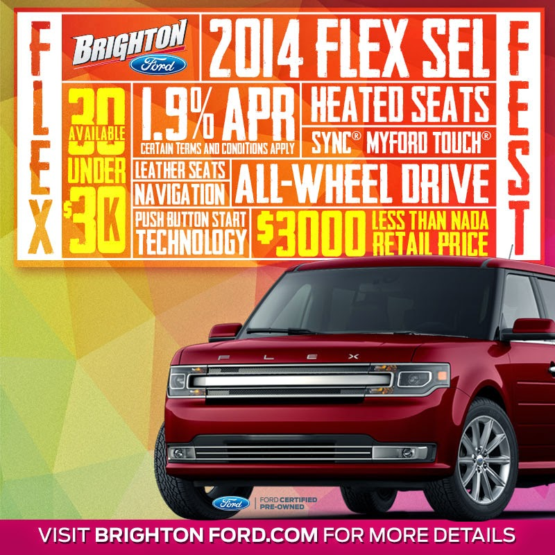 "Don't Miss the ""Flex Fest"" Going on at Brighton Ford!"