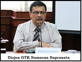 Dirjen GTK : Sumarna Supranata
