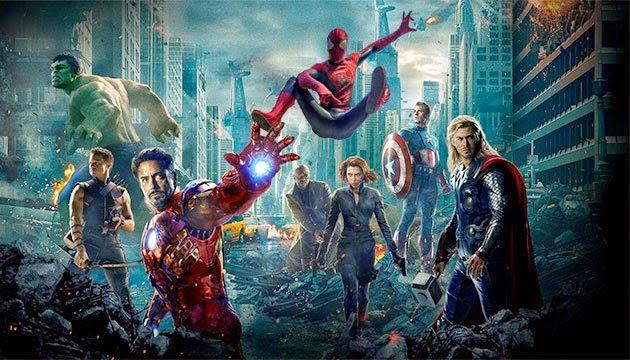 Crossover Spider-Man y Vengadores