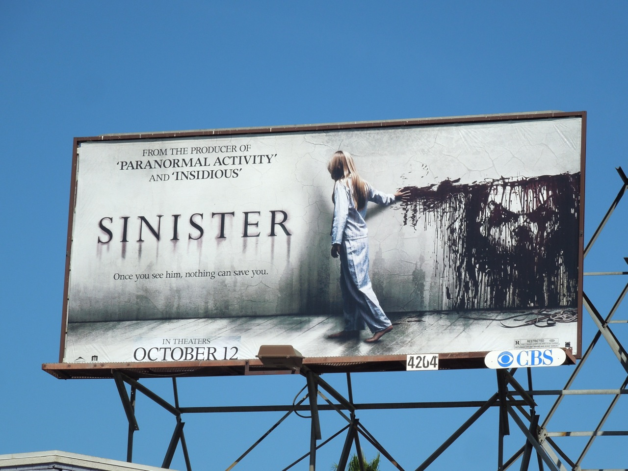 Daily Billboard HALLOWEEN WEEK Sinister Movie Billboards