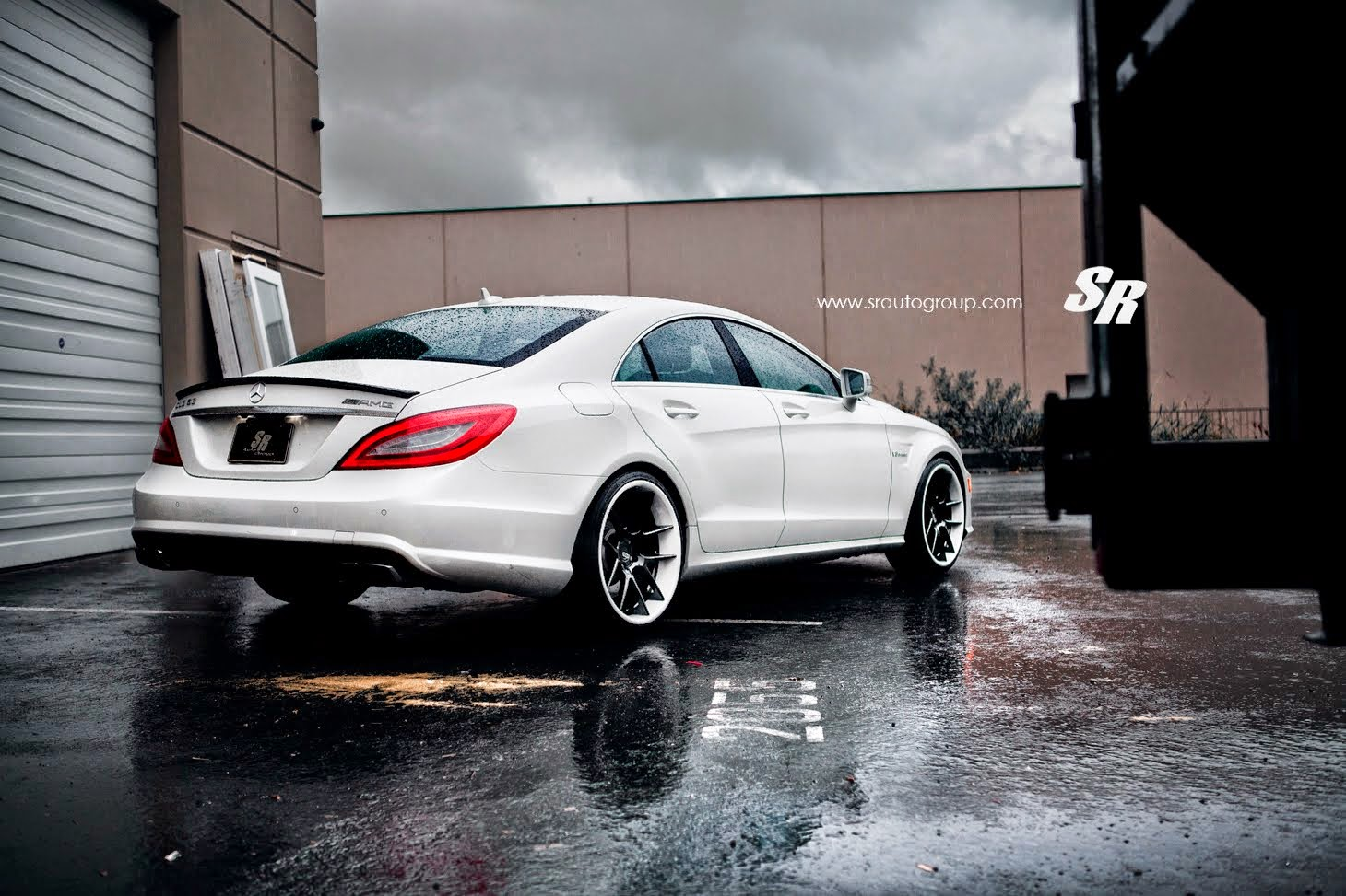 cls63 amg white