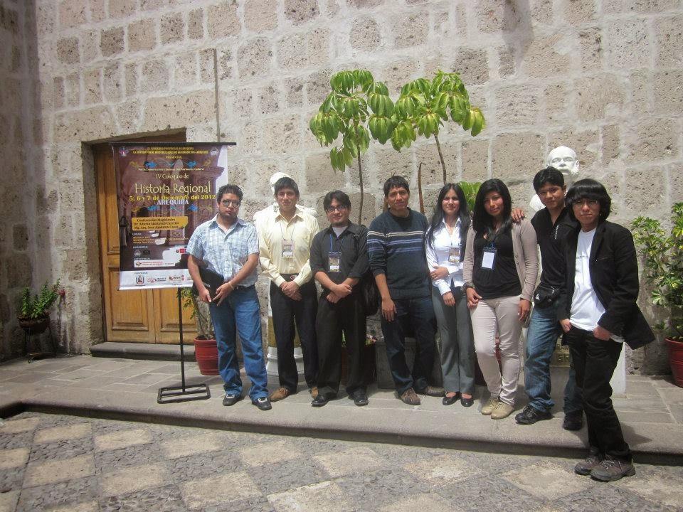 Comitiva de AH en Arequipa, 2012