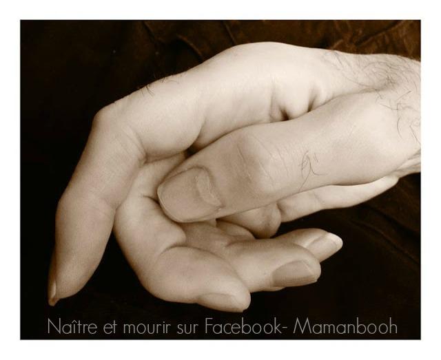 Naître et mourir sur Facebook par Julie Philippon- Mamanbooh, blogueuse