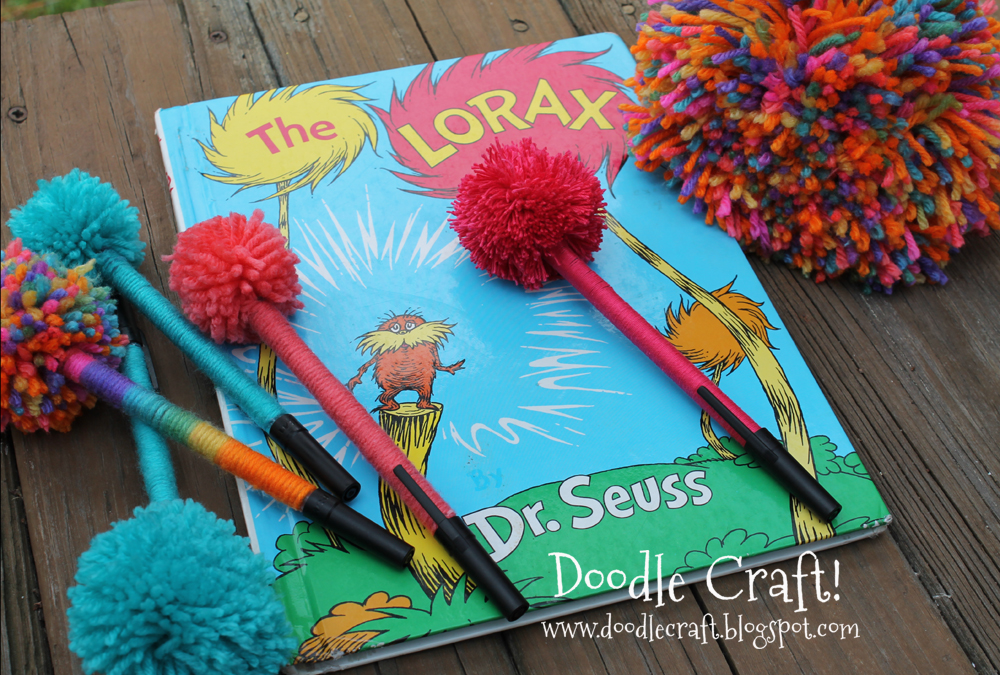 The Lorax Truffula Trees Painting Simply the same technique as
