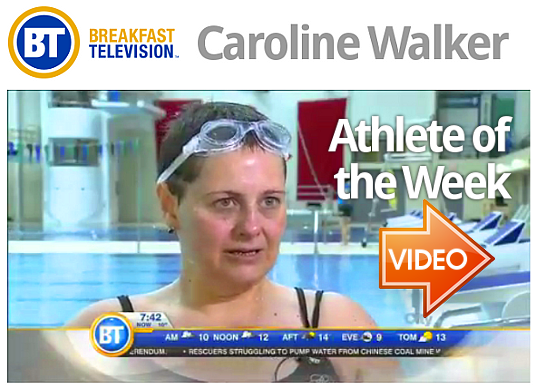 Caroline Walker on Breakfast Television
