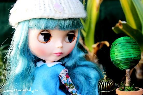 Blue hair Blythe
