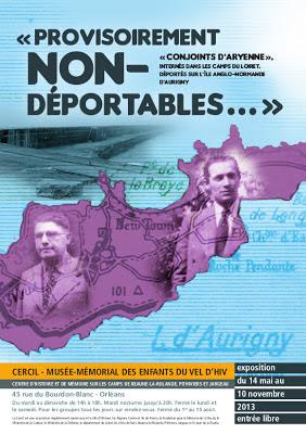 Affiche expo Provisoirement non-déportables