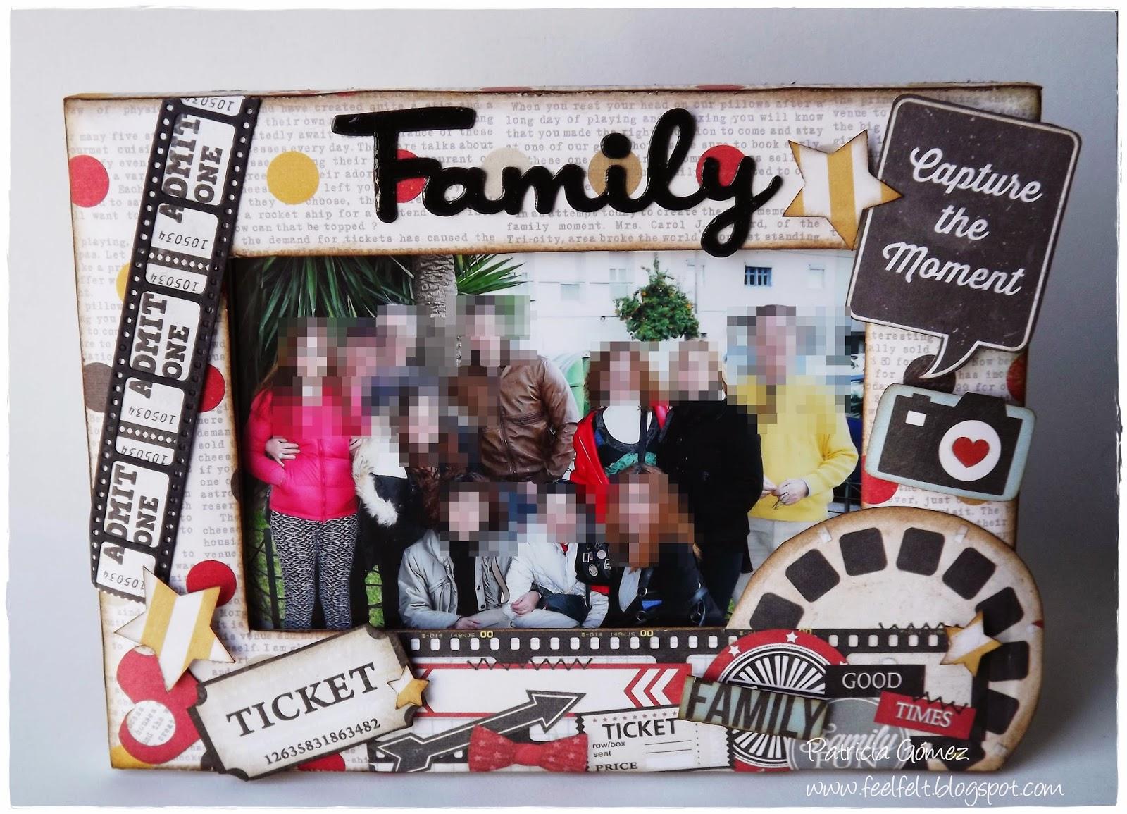 Feel&Felt: Family Frame - Marco para el día del padre