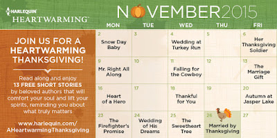 Harlequin, Thanksgiving, free, romance