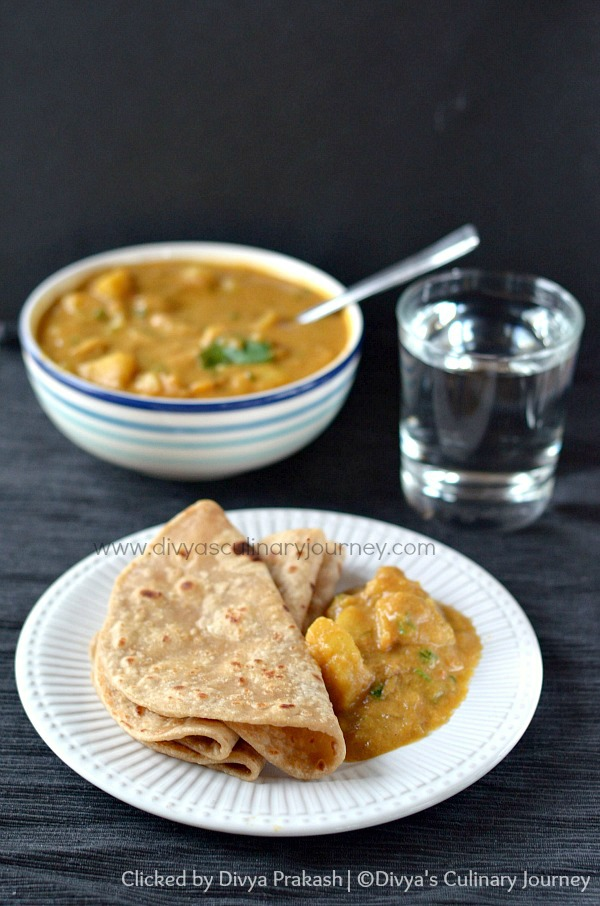 aloo kurma recipe , easy aloo kurma