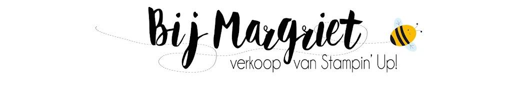 Bij Margriet; Stampin' Up! inspiratie en verkoop