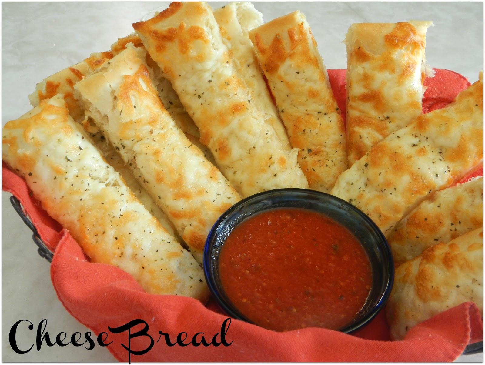 Aubrey's Recipes: Cheese Bread