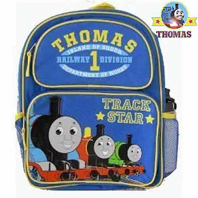 Kids backpacks school bags gifts Thomas the train friends merchandise crucial boys fashion accessory