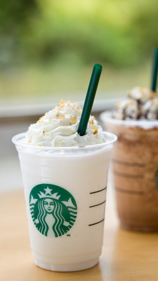 Starbucks Ice Coffee   Galaxy Note HD Wallpaper