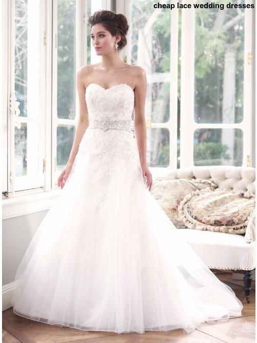 Lace Wedding Dresses Cheap