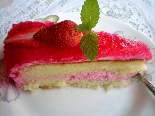 Strawberry Angel Food Cake Recipe Whipped Cream