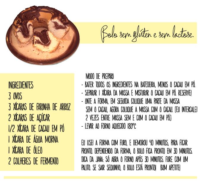 Bolo, sem glúten, sem lactose, blog da jana, jana acessórios, Joinville