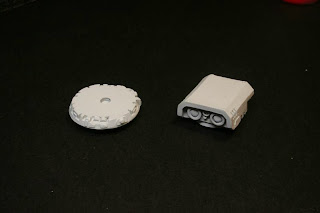 Imprimación del sensor del Land Raider