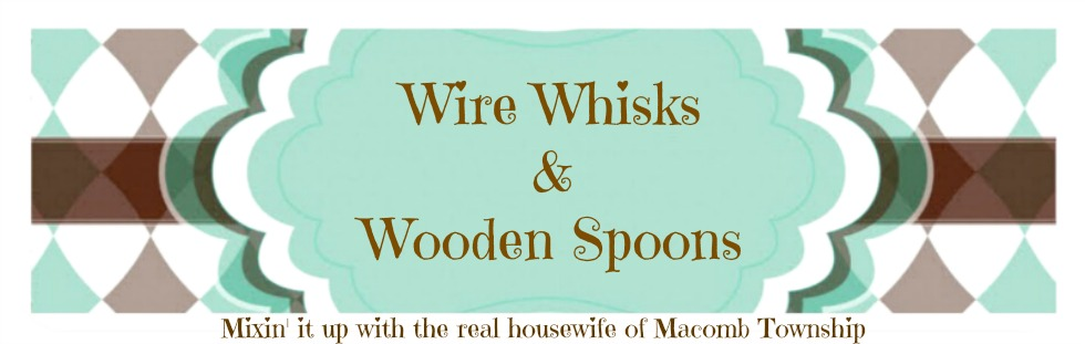 Wire Whisks & Wooden Spoons