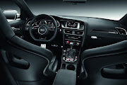 All display and control elements in the new Audi RS4 Avant, .