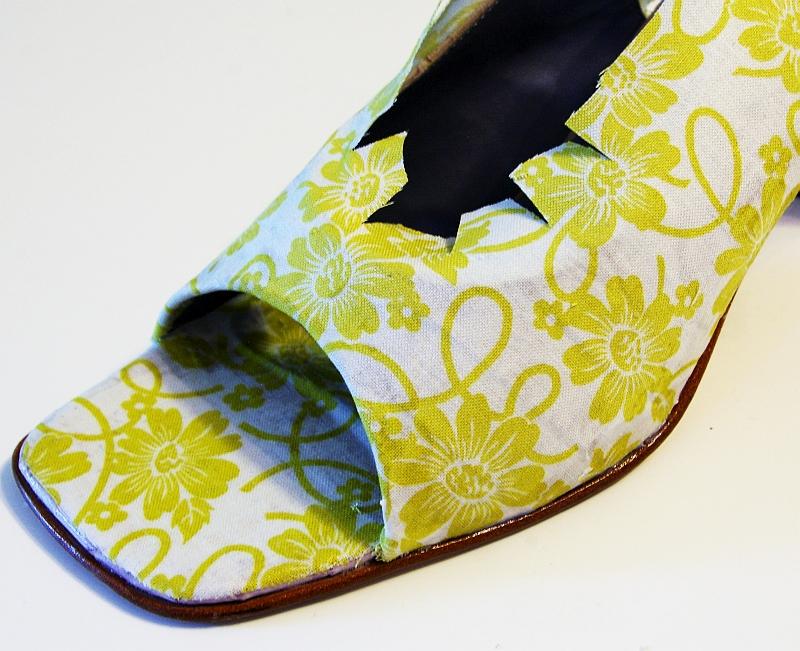 Реставрация детской обуви своими руками декупаж 25