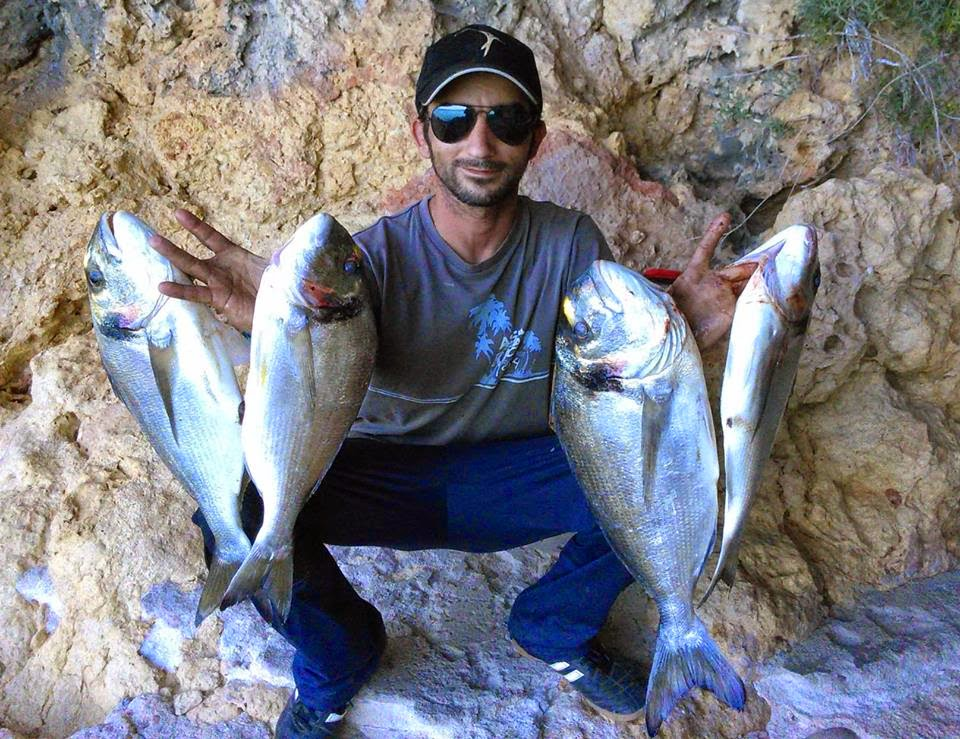 Douradas ao Rockfishing