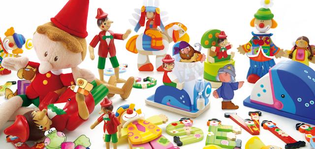 John Crane and Sevi Wooden Toys