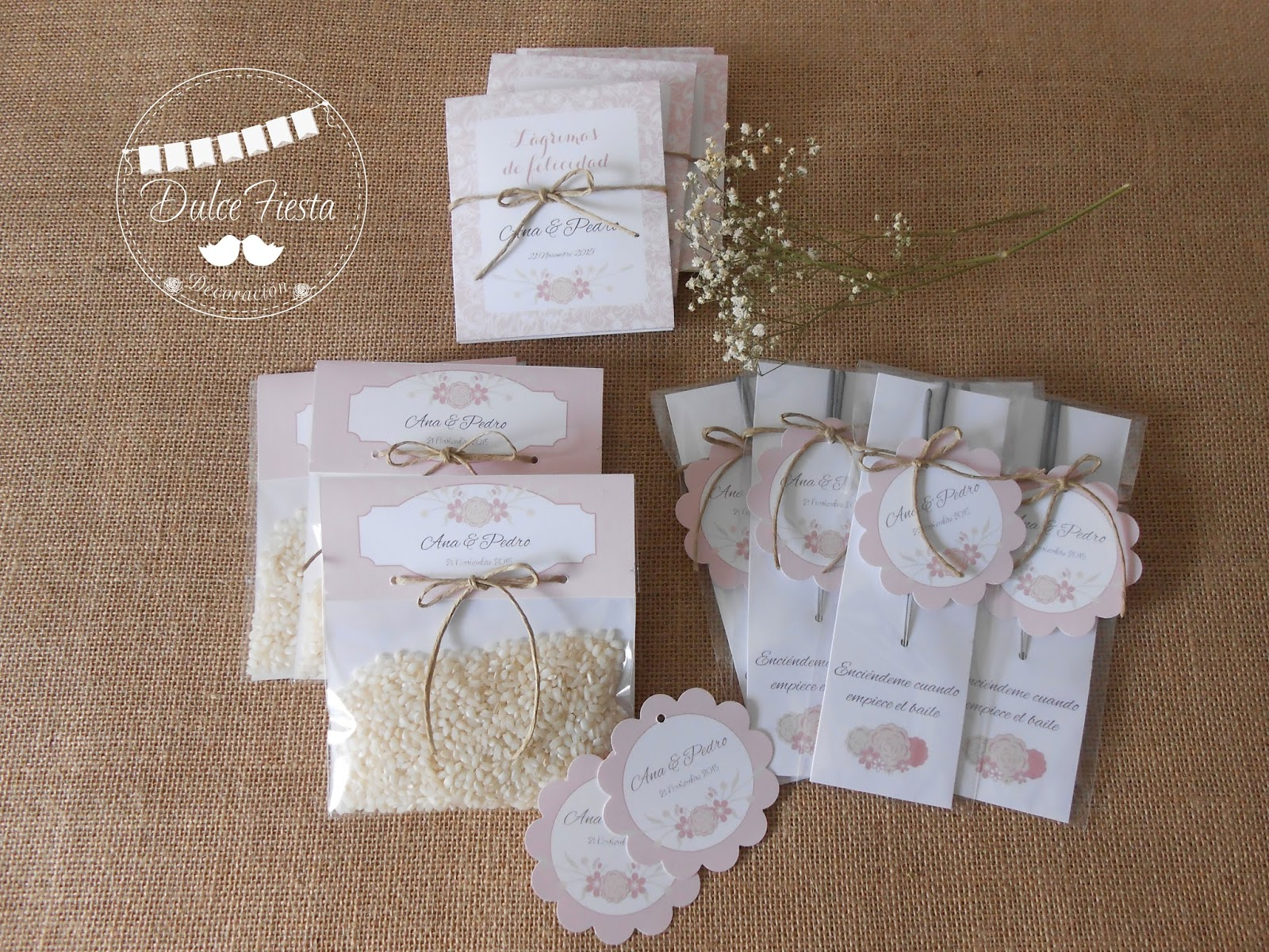 Dise o y decoraci n personalizada para eventos detalles y for Detalles decoracion boda